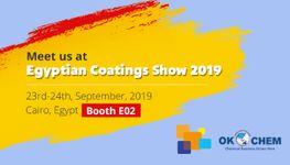 Egyptian Coatings Show 2019