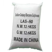 Sodium Alkyl Benzene Sulfonate(LAS-80%) powder completely soluble