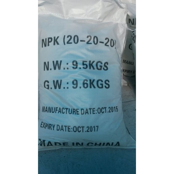 water soluble fertilizers (NPK)