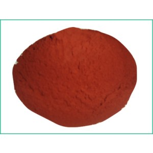 Transparent iron oxide pigment Red
