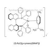 (S)-RuCl[(p-cymene)(BINAP)]I
