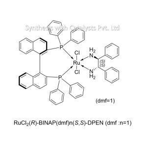 RuCl2(R)-BINAP(dmf)n(S,S)-DPEN (f :n=1)