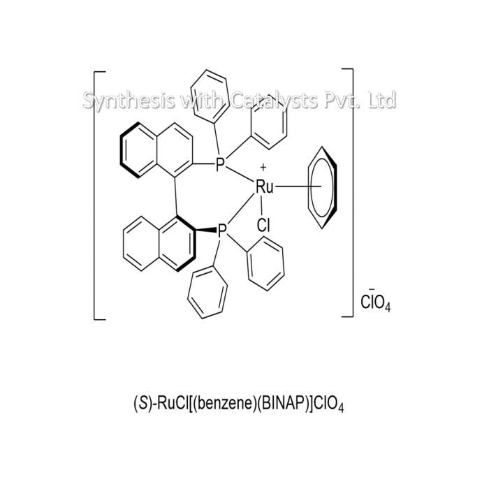 (S)-RuCl[(benzene)(BINAP)]ClO4