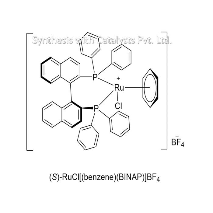 (S)-RuCl[(benzene)(BINAP)]BF4