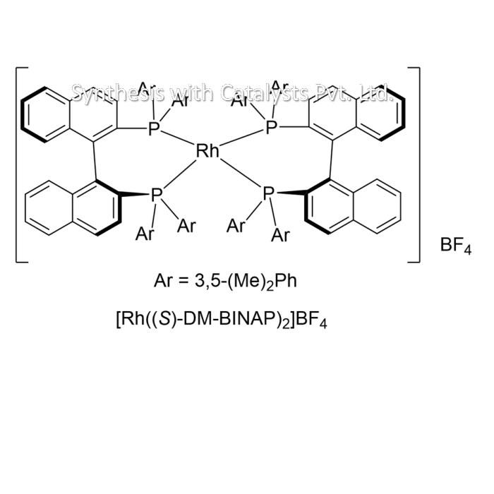 [Rh((S)-DM-BINAP)2]BF4