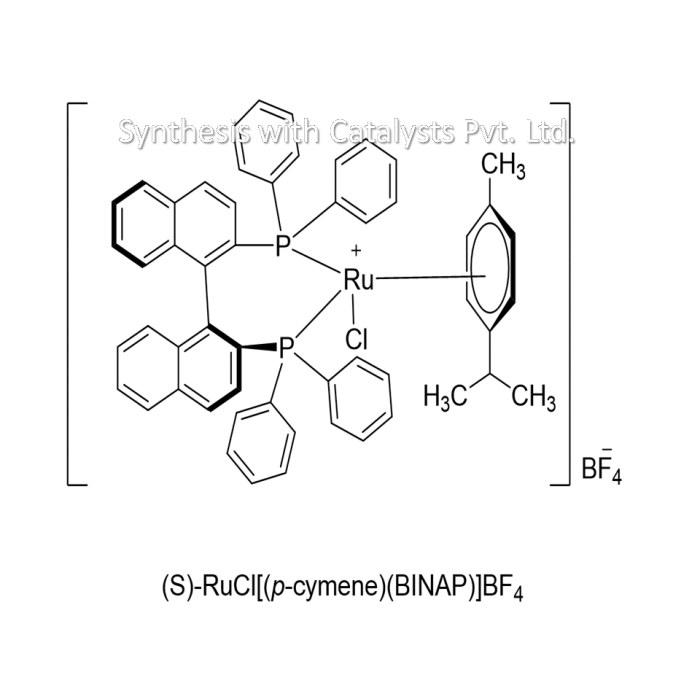 (S)-RuCl[(p-cymene)(BINAP)]BF4