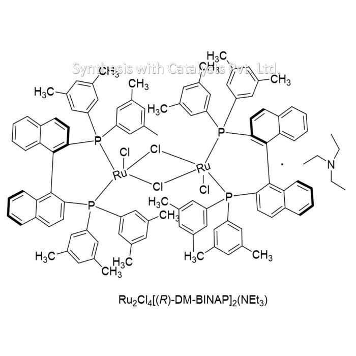 Ru2Cl4[( R)-DM-BINAP]2(NEt3)