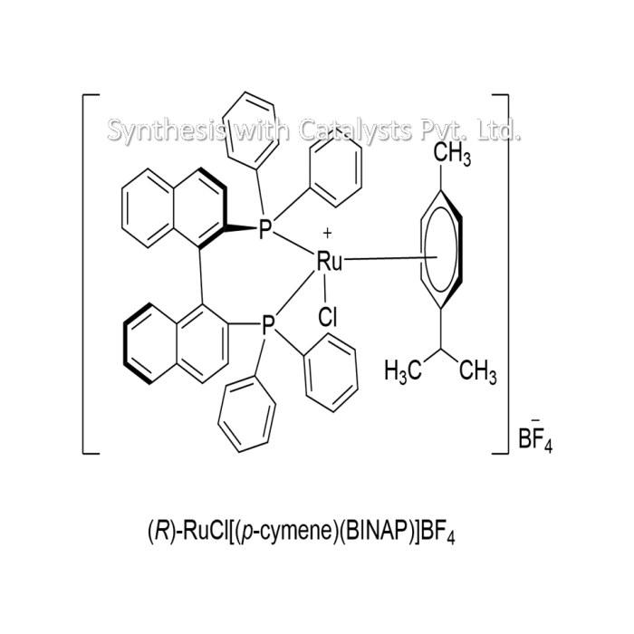 (R)-RuCl[(p-cymene)(BINAP)]BF4