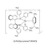 (S)-RuCl[(p-cymene)(T-BINAP)]I