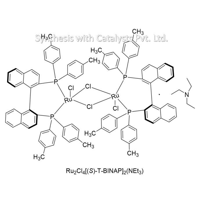 Ru2Cl4[(S)-T-BINAP]2(NEt3)