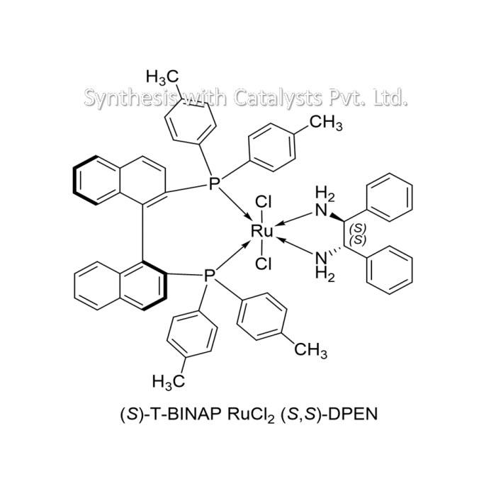 (S)-T-BINAP RuCl2 (S,S)-DPEN