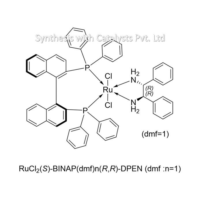 RuCl2(S)-BINAP(dmf)n(R,R)-DPEN