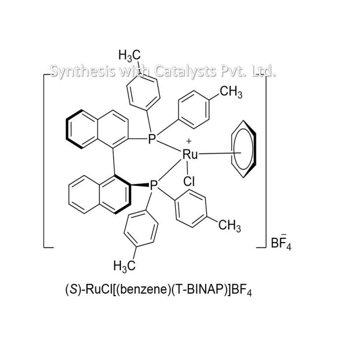 (S)-RuCl[(benzene)(T-BINAP)]BF4