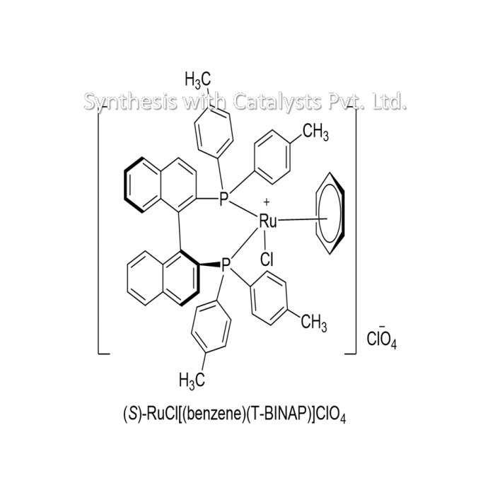 (S)-RuCl[(benzene)(T-BINAP)]ClO4