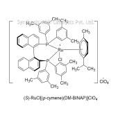 (S)-RuCl[(p-cymene)(DM-BINAP)]ClO4