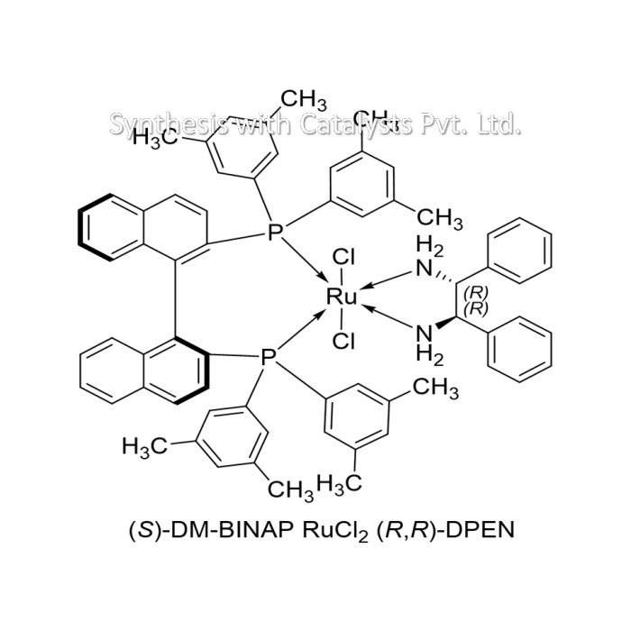 (S)-DM-BINAP RuCl2 (R,R)-DPEN