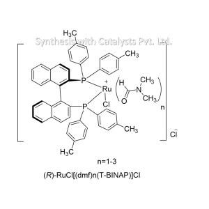 (R)-RuCl[(dmf)n(T-BINAP)]Cl