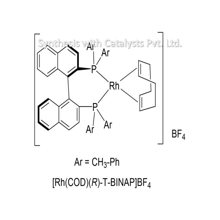 [Rh(COD)(R)-T-BINAP]BF4