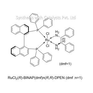 RuCl2(R)-BINAP(dmf)n(R,R)-DPEN (f :n=1)