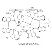 Ru2Cl4[(S)-DM-BINAP]2(NEt3)