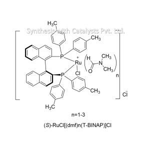 (S)-RuCl[(dmf)n(T-BINAP)]Cl