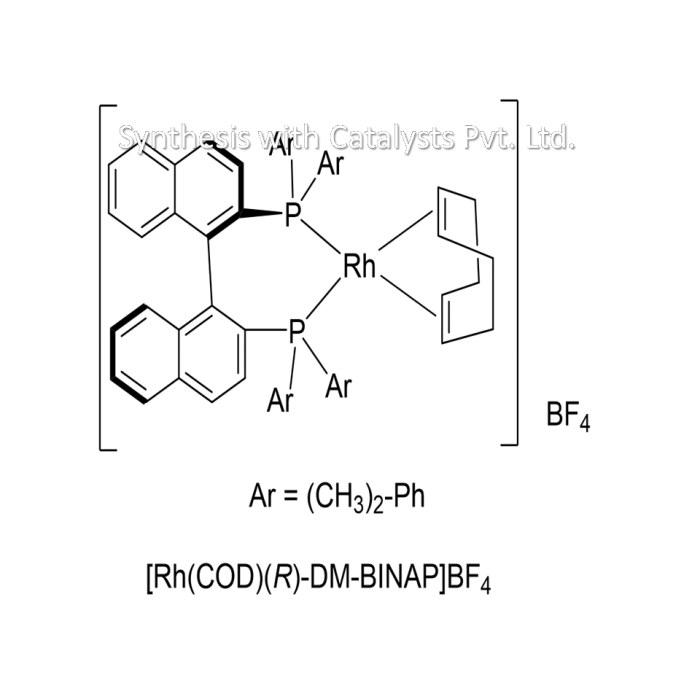 [Rh(COD)(R)-DM-BINAP]BF4