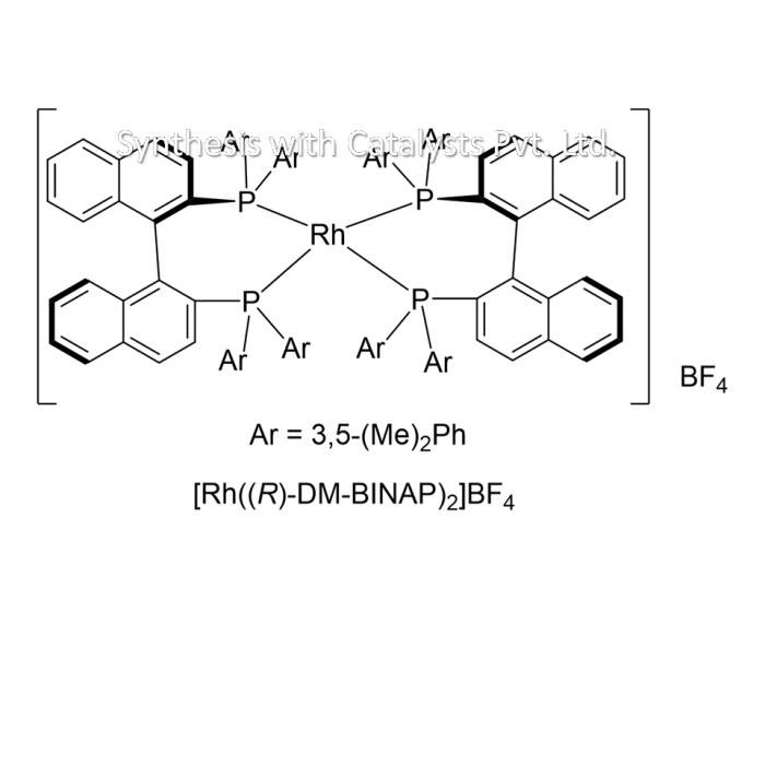 [Rh((R)-DM-BINAP)2]BF4