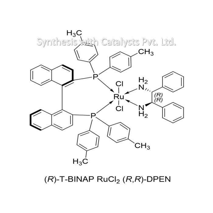 (R)-T-BINAP RuCl2 (R,R)-DPEN