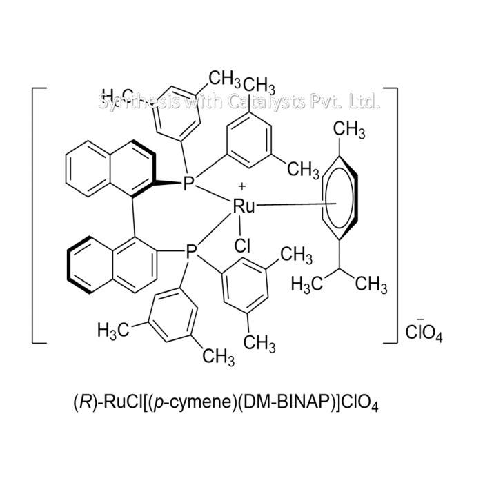 (R)-RuCl[(p-cymene)(DM-BINAP)]ClO4