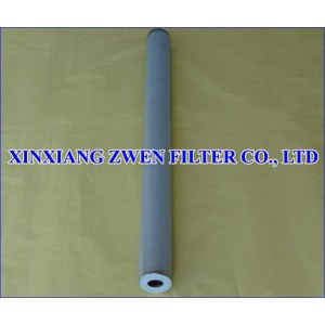 Titanium Powder Filter Cartridge