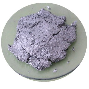 aluminium paste pigment with resin coated