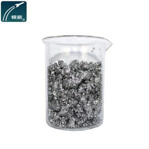 Silver color pigment aluminum paste for textile printing