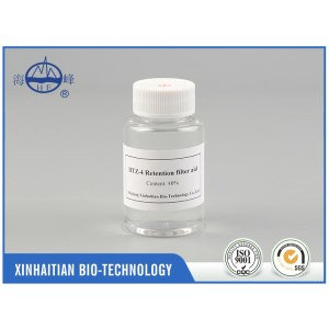 Factory products HTZ-4 paper chemical papermaking retention filter aid