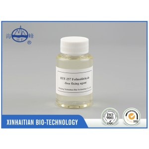High quality industrial chemical formaldehyde free fixing agent for active dyeing