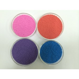 detergent powder color speckles