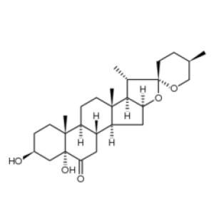 Spirostan-6-one, 3,5-dihydroxy-, (3β,5α,25R)-