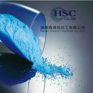 Copper Sulphate Copper Sulfate Pentahydrate Feed Grade From Manufacturer