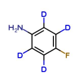 4-Fluoroaniline-2,3,5,6 D4