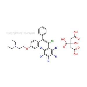 Enclomiphene Ring D5 Citrate