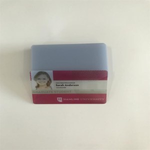 Transparent inkjet pvc card for Epson or Canon inkjet printer