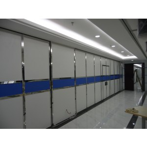 high quality aluminum plastic partition wall for multi-function room