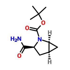 (1S,3S,5S)-3-(Aminocarbonyl)-2-azabicyclo [3.1.0]hexane-2-carboxylic acid <em>tert-butyl</em> ester CAS:361440-67-7