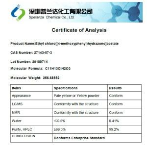 Ethyl chloro[(4-methoxyphenyl)hydrazono]acetate