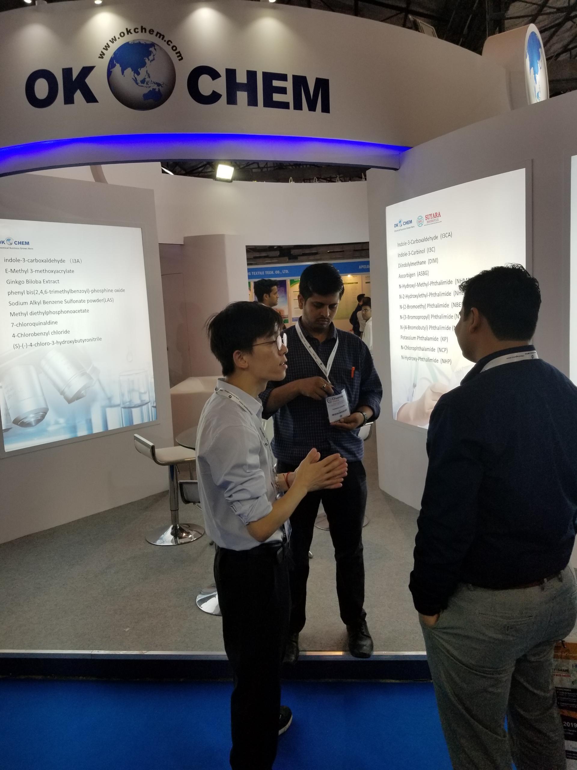 OKCHEM Shone at the ChemSpec India 2019 - OKCHEM - Global