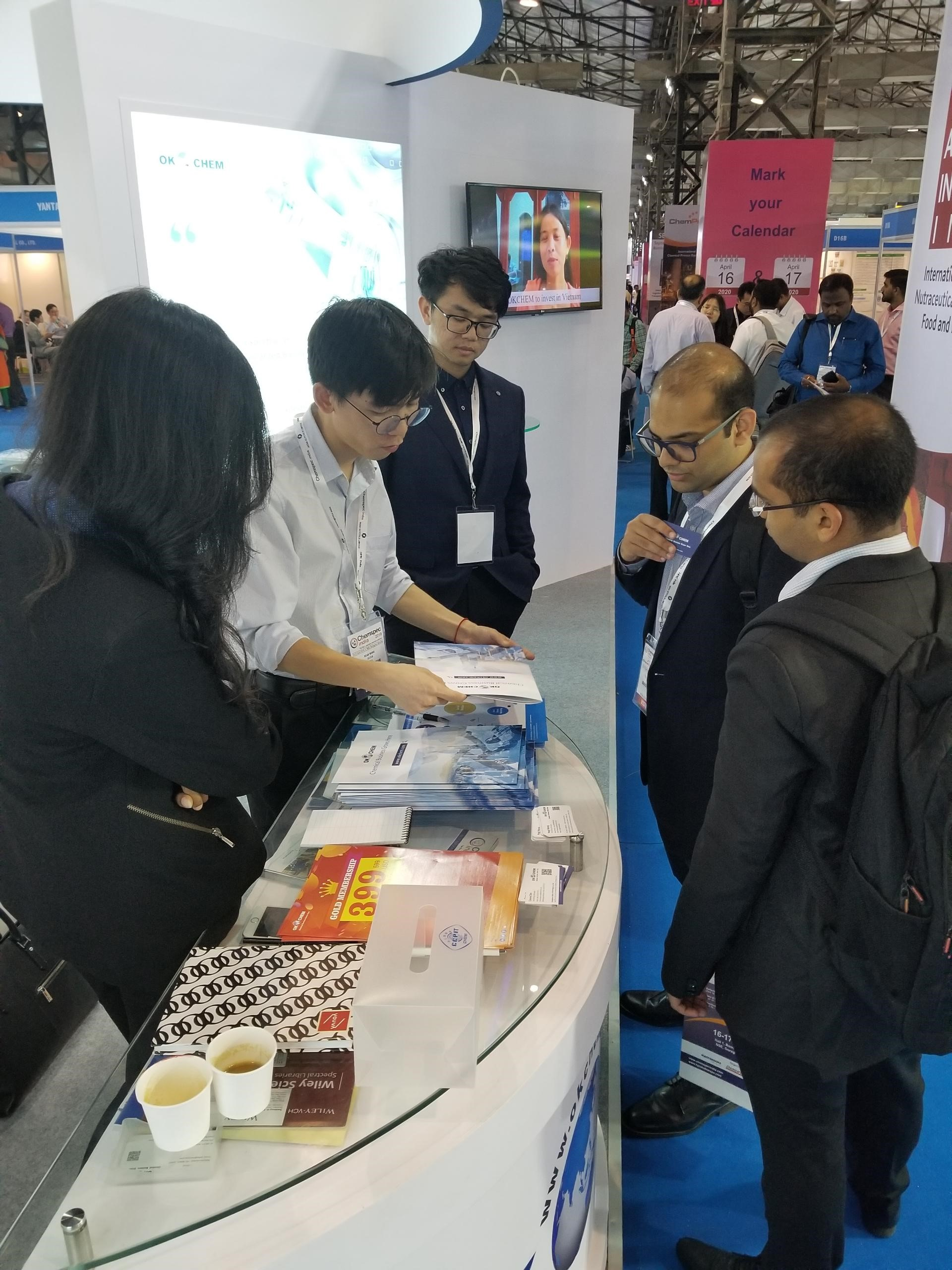 OKCHEM Shone at the ChemSpec India 2019 - OKCHEM - Global