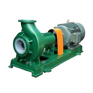 Johames IHF single stage single suction pump PVDF lined pump centrifugal chemical pump