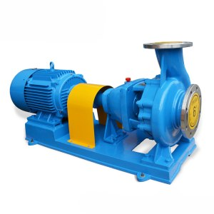 Johames IH high quality anti-corrosion acid circulation pump end suction stainless steel centrifugal pump