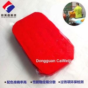 silicon red pasty color masterbatch
