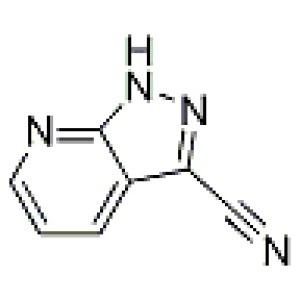 1H-pyrazolo[<em>3</em>,<em>4-b</em>]pyridine-3-carbonitrile 99%