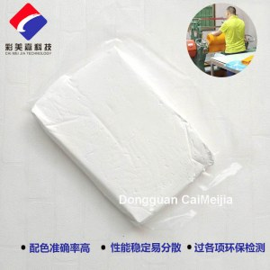 silicone pasty white color masterbatch